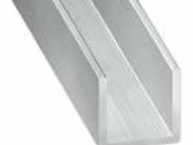 Perfiles de Aluminio en U